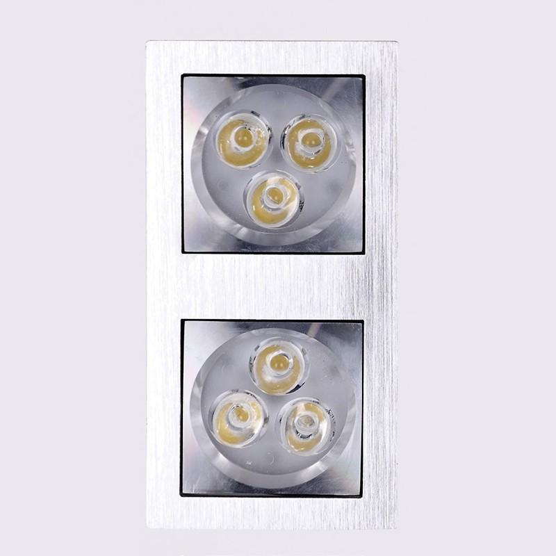 Spot incastrat dim.16x8cm, Spot LED H0019 MX, Spoturi LED incastrate, aplicate, Corpuri de iluminat, lustre, aplice, veioze, lampadare, plafoniere. Mobilier si decoratiuni, oglinzi, scaune, fotolii. Oferte speciale iluminat interior si exterior. Livram in toata tara.  a