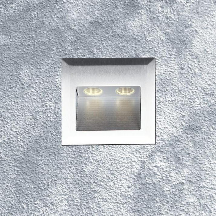 Spot incastrat dim.10x10cm, IP 54, Mega LED H0003 MX, Spoturi LED incastrate, aplicate, Corpuri de iluminat, lustre, aplice, veioze, lampadare, plafoniere. Mobilier si decoratiuni, oglinzi, scaune, fotolii. Oferte speciale iluminat interior si exterior. Livram in toata tara.  a