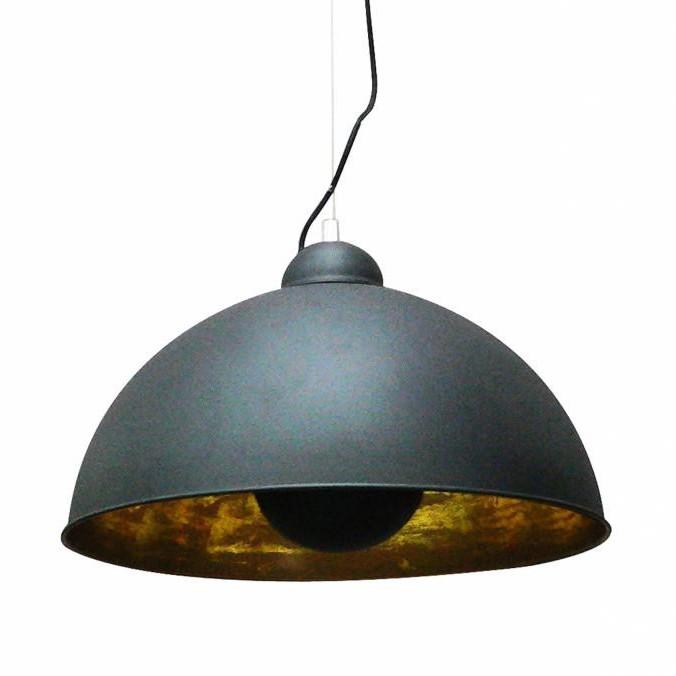 Lustra moderna diam.53cm, ANTENNE negru/auriu TS-071003P-BKGO, NOU ! Lustre VINTAGE, RETRO, INDUSTRIA Style,  a