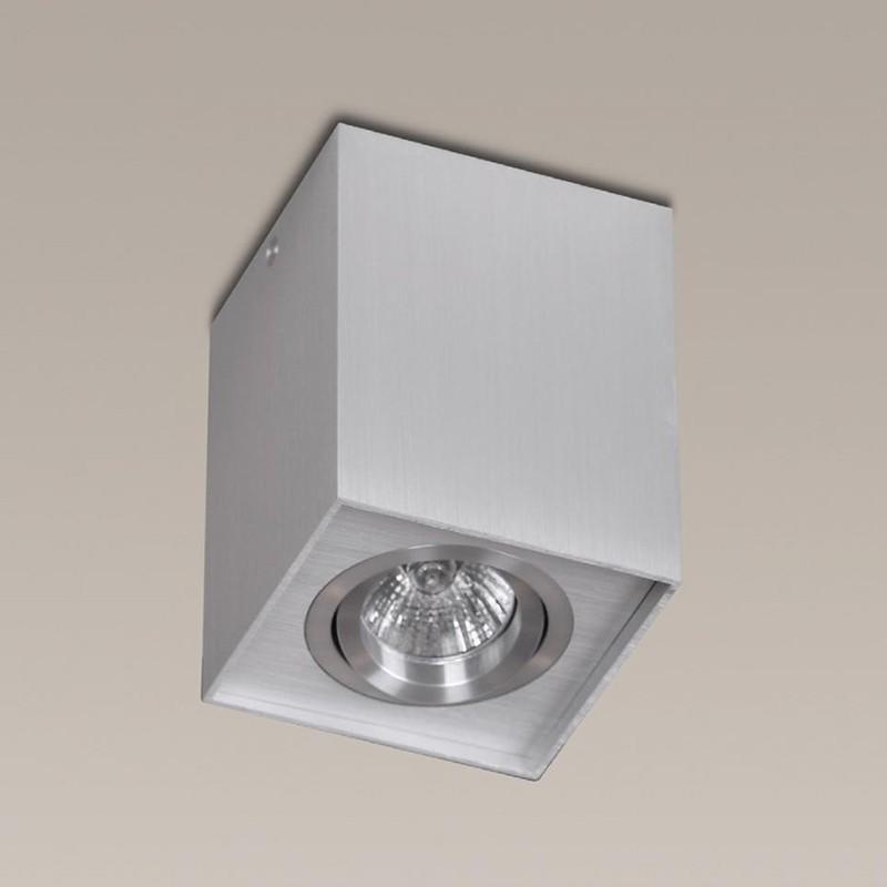 Plafonier, Spot aplicat aluminiu, dim.9,5x9,5cm, BASIC SQUARE 200 83 85 01 MX, Spoturi incastrate, aplicate - tavan / perete, Corpuri de iluminat, lustre, aplice, veioze, lampadare, plafoniere. Mobilier si decoratiuni, oglinzi, scaune, fotolii. Oferte speciale iluminat interior si exterior. Livram in toata tara.  a