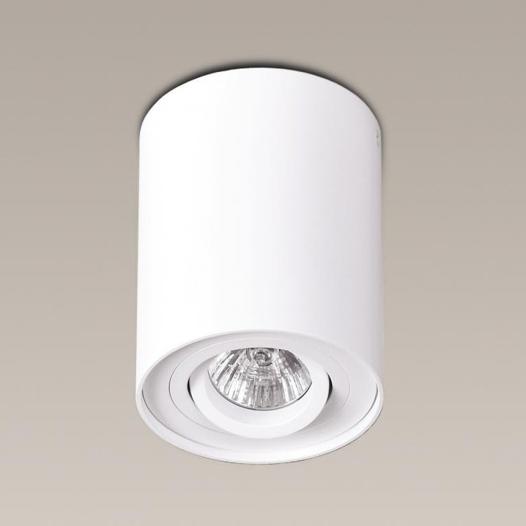Plafonier, Spot aplicat alb, diam.9,5cm, BASIC ROUND C0067 MX, Spoturi incastrate, aplicate - tavan / perete, Corpuri de iluminat, lustre, aplice a