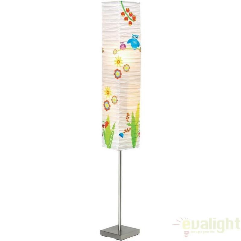 Lampadar, lampa de podea copii Birds 92603/80 BL, PROMOTII, Corpuri de iluminat, lustre, aplice, veioze, lampadare, plafoniere. Mobilier si decoratiuni, oglinzi, scaune, fotolii. Oferte speciale iluminat interior si exterior. Livram in toata tara.  a