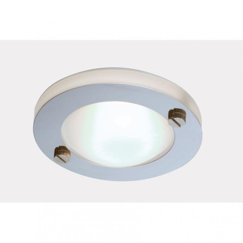 Spot incastrabil pt. baie, cabina dus, diam.10cm,cu protectie IP65, EL-20014 EN, Spoturi incastrate, aplicate - tavan / perete, Corpuri de iluminat, lustre, aplice a