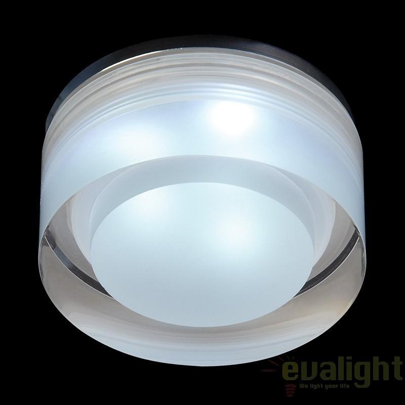 Spot incastrabil pt. baie, cabina dus, LED, diam.7cm, IP65, EL-IP-8000 EN, Spoturi incastrate, aplicate - tavan / perete, Corpuri de iluminat, lustre, aplice a