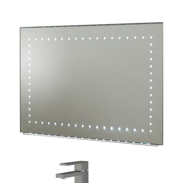 Oglinda pentru baie cu iluminat LED, protectie IP44, dim.67x80cm, senzor, EL-KALAMOS EN , Oglinzi pentru baie, Corpuri de iluminat, lustre, aplice a
