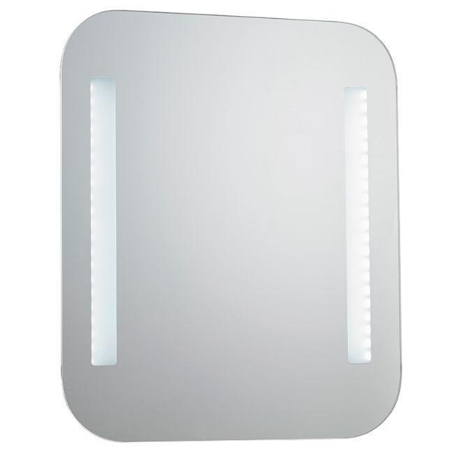 Oglinda pentru baie cu iluminat LED, protectie IP44, dim.60x50cm, senzor, RAYLEIGH EN, Oglinzi pentru baie, Corpuri de iluminat, lustre, aplice a