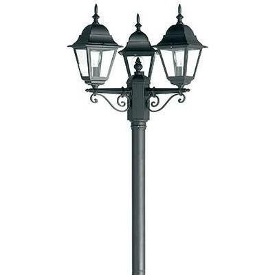 Stalp exterior cu 3 brate, H-225cm, IP44 YG-1005 EN, Stalpi de iluminat exterior mari, Corpuri de iluminat, lustre, aplice a