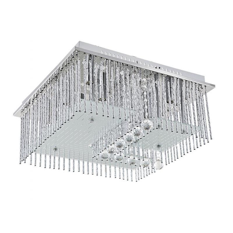 Plafonier dim.44x44cm, cu telecomanda si LED, Billings 2439 RX, Lampi LED si Telecomanda, Corpuri de iluminat, lustre, aplice a
