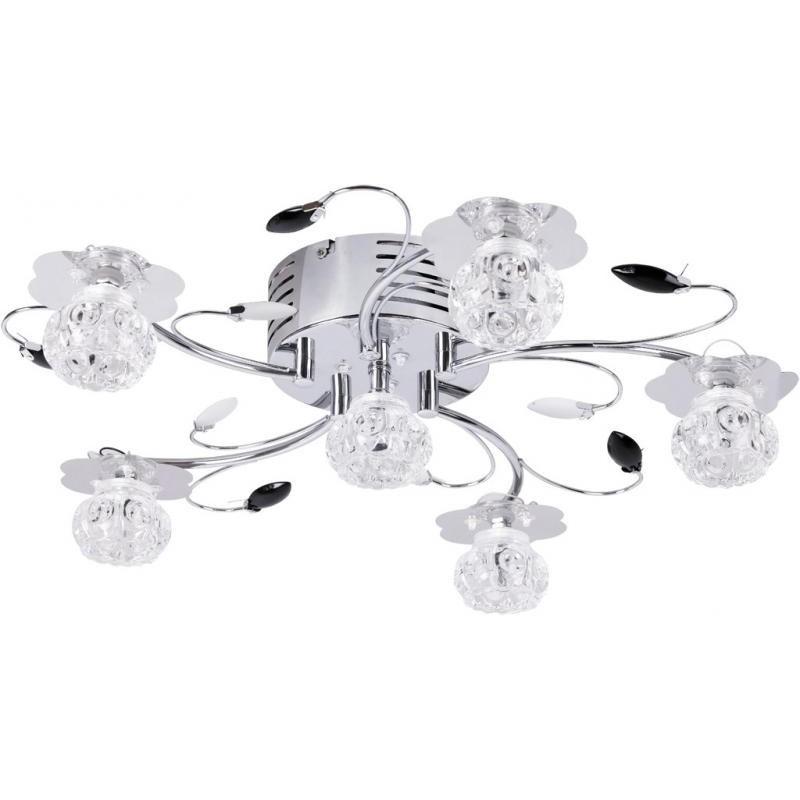 Lustra moderna diam.55cm, cu telecomanda si LED color, Libra 2855 RX, Lampi LED si Telecomanda, Corpuri de iluminat, lustre, aplice a