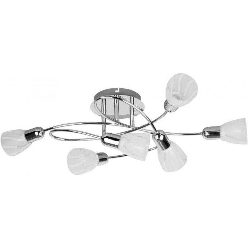 Lustra, Plafonier cu 6 spoturi, Flaire 6059 RX, Spoturi - iluminat - cu 5 si 6 spoturi, Corpuri de iluminat, lustre, aplice a