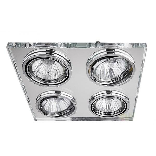 Spot incastrabil, dim.17,2x17,2cm, Spot fashion 1180 RX, Spoturi incastrate, aplicate - tavan / perete, Corpuri de iluminat, lustre, aplice a