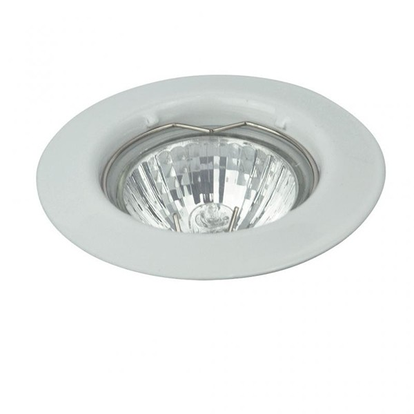 Spot incastrabil alb, diam.8cm, Spot relight 1087 RX, Spoturi incastrate, aplicate - tavan / perete, Corpuri de iluminat, lustre, aplice, veioze, lampadare, plafoniere. Mobilier si decoratiuni, oglinzi, scaune, fotolii. Oferte speciale iluminat interior si exterior. Livram in toata tara.  a