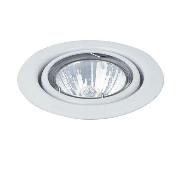 Spot directionabil, incastrabil alb, diam.8,6cm, Spot relight 1091 RX, Spoturi incastrate, aplicate - tavan / perete, Corpuri de iluminat, lustre, aplice, veioze, lampadare, plafoniere. Mobilier si decoratiuni, oglinzi, scaune, fotolii. Oferte speciale iluminat interior si exterior. Livram in toata tara.  a