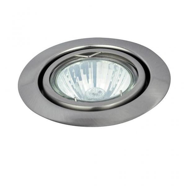 Spot directionabil, incastrabil crom satinat, diam.8,6cm, Spot relight 1093 RX, Spoturi incastrate, aplicate - tavan / perete, Corpuri de iluminat, lustre, aplice a