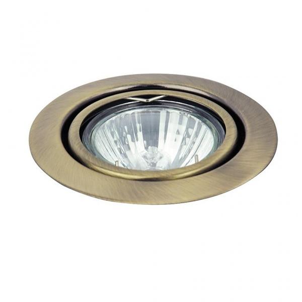 Spot directionabil, incastrabil bronz, diam.8,6cm, Spot relight 1095 RX, Spoturi incastrate, aplicate - tavan / perete, Corpuri de iluminat, lustre, aplice, veioze, lampadare, plafoniere. Mobilier si decoratiuni, oglinzi, scaune, fotolii. Oferte speciale iluminat interior si exterior. Livram in toata tara.  a