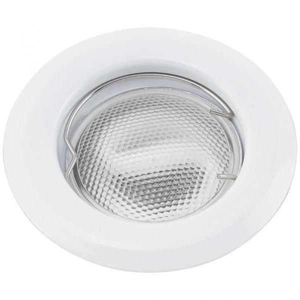 Set 3 spoturi incastrabile pentru baie alb, diam.8cm, IP44, Swing spot 1106 RX, Spoturi incastrate, aplicate - tavan / perete, Corpuri de iluminat, lustre, aplice a