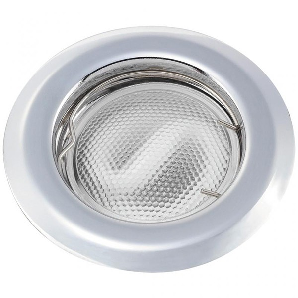 Set 3 spoturi incastrabile pentru baie cromat, diam.8cm, IP44, Swing spot 1107 RX, Spoturi incastrate, aplicate - tavan / perete, Corpuri de iluminat, lustre, aplice a