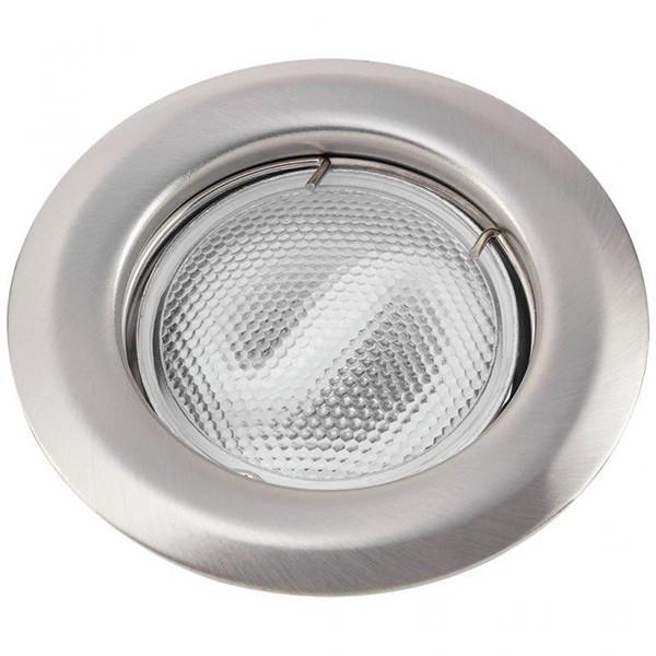 Set 3 spoturi incastrabile pentru baie crom satinat, diam.8cm, IP44, Swing spot 1108 RX, Spoturi incastrate, aplicate - tavan / perete, Corpuri de iluminat, lustre, aplice a