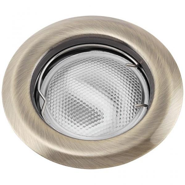 Set 3 spoturi incastrabile pentru baie bronz, diam.8cm, IP44, Swing spot 1109 RX, Spoturi incastrate, aplicate - tavan / perete, Corpuri de iluminat, lustre, aplice a