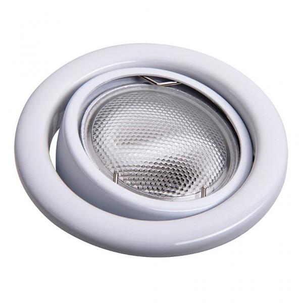 Set 3 spoturi directionabile, incastrabile pt. baie alb, diam.8cm, IP40, Swing spot 1126 RX, Spoturi incastrate, aplicate - tavan / perete, Corpuri de iluminat, lustre, aplice a
