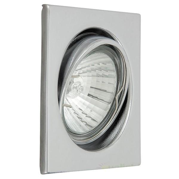 Set 3 spoturi directionabile, incastrabile pentru baie cromat, dim.8x8cm, IP40, Spot light 1133 RX, Spoturi incastrate, aplicate - tavan / perete, Corpuri de iluminat, lustre, aplice a