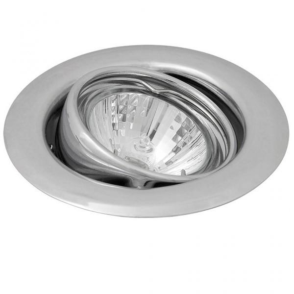 Set 3 spoturi directionabile, incastrabile pentru baie cromat, diam.8cm, IP40, Spot light 1123 RX, Spoturi incastrate, aplicate - tavan / perete, Corpuri de iluminat, lustre, aplice a