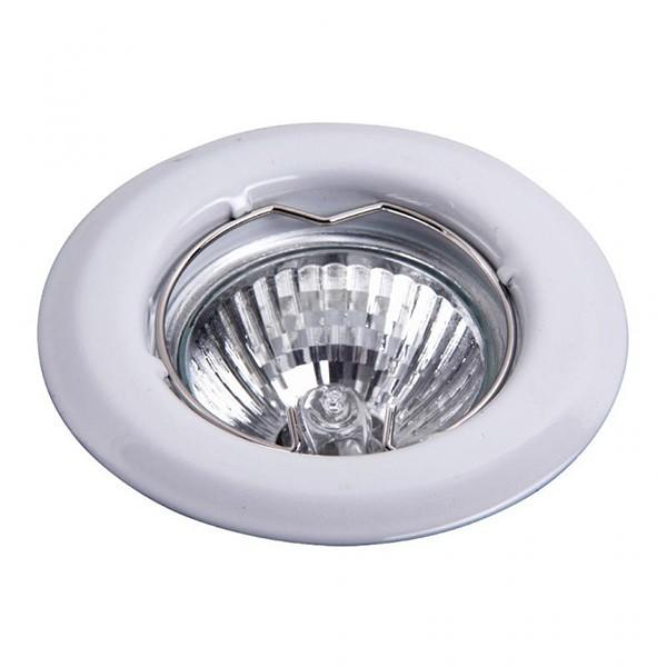 Set 3 spoturi incastrabile pentru baie alb, diam.8cm, IP40, Spot light 1101 RX, Spoturi incastrate, aplicate - tavan / perete, Corpuri de iluminat, lustre, aplice a
