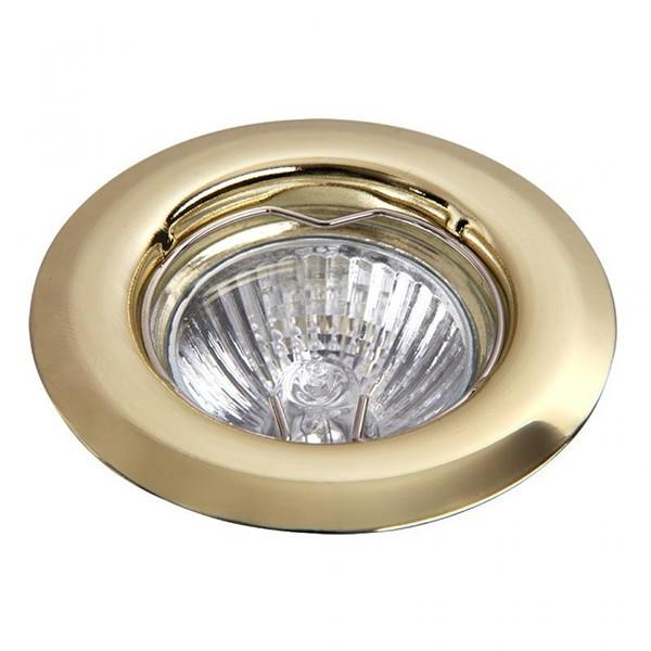 Set 3 spoturi incastrabile pentru baie auriu, diam.8cm, IP40, Spot light 1102 RX, Spoturi incastrate, aplicate - tavan / perete, Corpuri de iluminat, lustre, aplice a