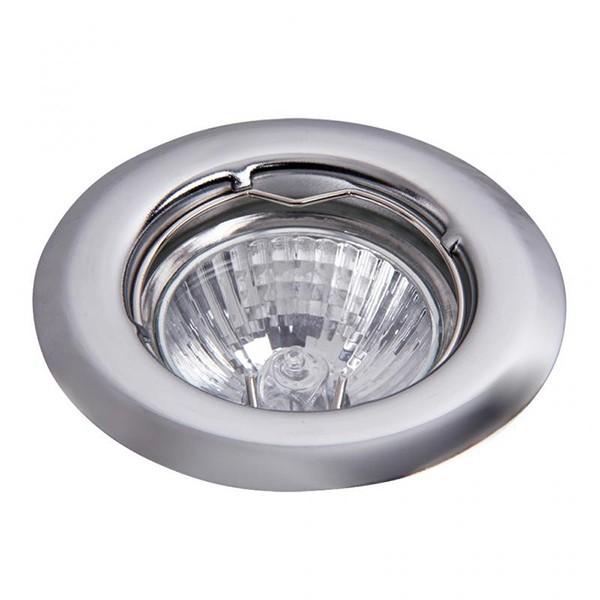 Set 3 spoturi incastrabile pentru baie cromat, diam.8cm, IP40, Spot light 1103 RX, Spoturi incastrate, aplicate - tavan / perete, Corpuri de iluminat, lustre, aplice a