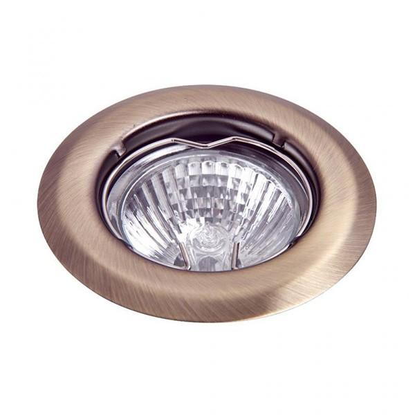 Set 3 spoturi incastrabile pentru baie bronz, diam.8cm, IP40, Spot light 1105 RX , Spoturi incastrate, aplicate - tavan / perete, Corpuri de iluminat, lustre, aplice a
