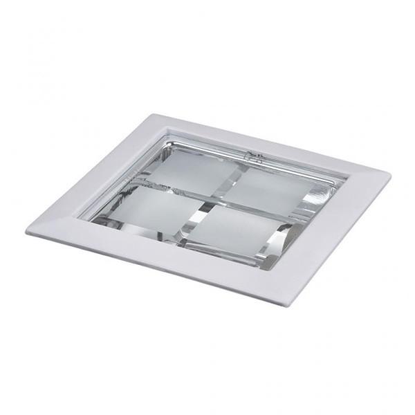 Spot incastrabil alb, dim.23x23cm, Spot office 1131 RX, Spoturi incastrate, aplicate - tavan / perete, Corpuri de iluminat, lustre, aplice a