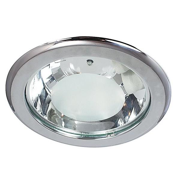 Spot incastrabil cromat, diam.24,6cm, Spot office 1149 RX, Spoturi incastrate, aplicate - tavan / perete, Corpuri de iluminat, lustre, aplice a