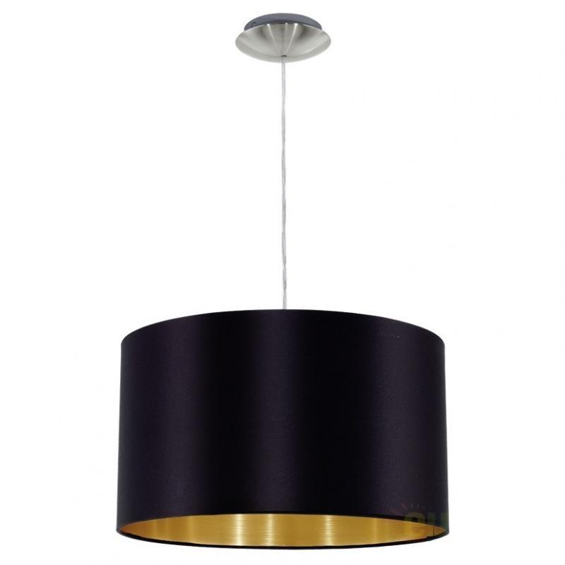 Lustra, Pendul modern negru/auriu, diam.38cm, Maserlo 31599 EL, PROMOTII,  a