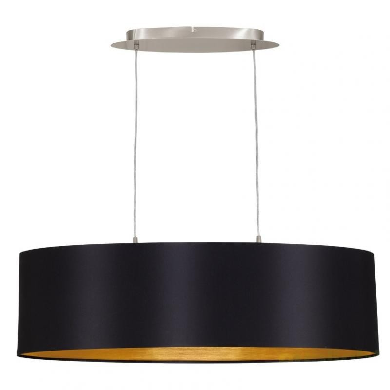 Lustra, Pendul modern negru/auriu, dim.78x22cm, Maserlo 31611 EL, Magazin,  a