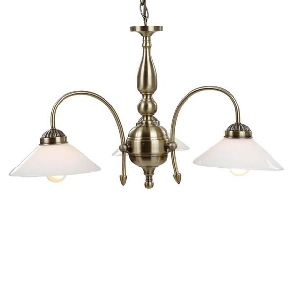 Candelabru diametru 64cm Landlife 6870-3 GL, Candelabre, Pendule, Lustre, Corpuri de iluminat, lustre, aplice a