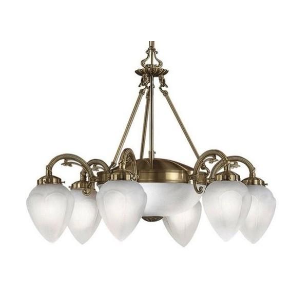 Candelabru 6 brate diametru 70cm Imperial 82743 EL, Candelabre, Pendule, Lustre, Corpuri de iluminat, lustre, aplice a