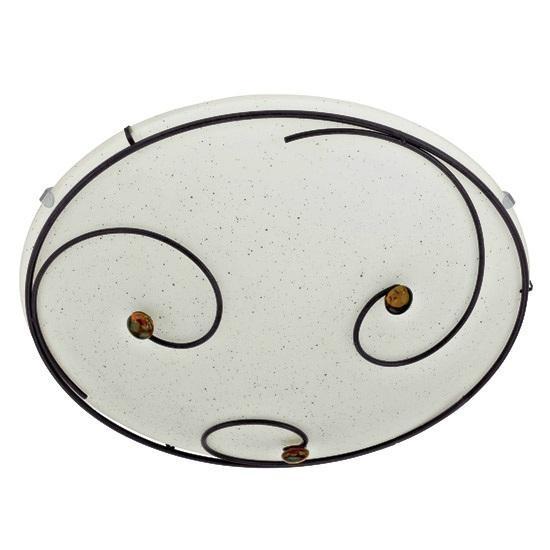 Plafonier diametru 31,5cm Scarleth 90571 EL, Plafoniere, Spots, Corpuri de iluminat, lustre, aplice a