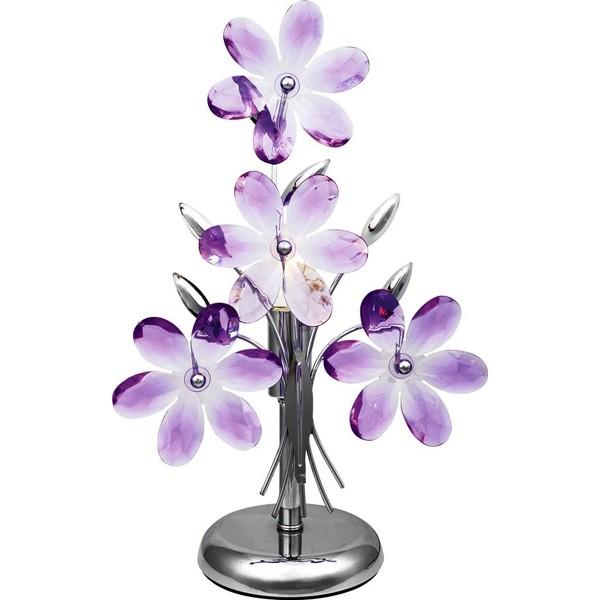 Veioza Purple 5146 GL, Veioze, Lampi de masa, Corpuri de iluminat, lustre, aplice a