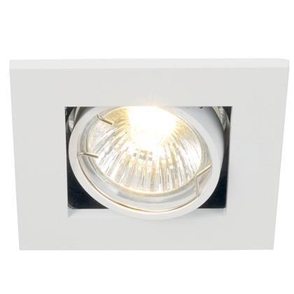 Spot orientabil incastrat Galilei 1-Spot alb 21060101NL, Spoturi incastrate, aplicate - tavan / perete, Corpuri de iluminat, lustre, aplice a