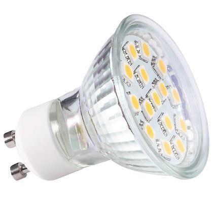 Bec GU10 3W LED SMD 1355070NL, Becuri GU10, Corpuri de iluminat, lustre, aplice a