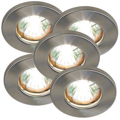 Set 5 spoturi incastrabile Mars 15370132NL, Spoturi incastrate, aplicate - tavan / perete, Corpuri de iluminat, lustre, aplice a