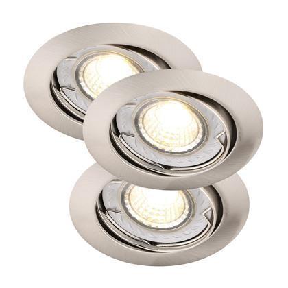Set 3 spoturi orientabile incastrate Recess LED COB Dim BS 78850032NL, Spoturi LED incastrate, aplicate, Corpuri de iluminat, lustre, aplice, veioze, lampadare, plafoniere. Mobilier si decoratiuni, oglinzi, scaune, fotolii. Oferte speciale iluminat interior si exterior. Livram in toata tara.  a