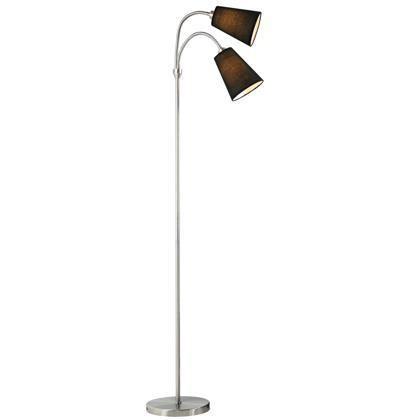 Lampa de podea cu 2 brate flexibile Lelio 75554003 NL, Magazin, Corpuri de iluminat, lustre, aplice, veioze, lampadare, plafoniere. Mobilier si decoratiuni, oglinzi, scaune, fotolii. Oferte speciale iluminat interior si exterior. Livram in toata tara.  a