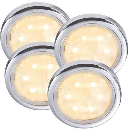 Set 4 spoturi incastrabile LED Lismore 76730001NL, Spoturi LED incastrate, aplicate, Corpuri de iluminat, lustre, aplice a