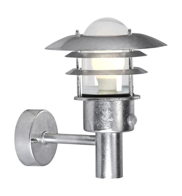 Aplica de perete exterior cu senzor IP44 Lonstrup 22 GS 71432031NL, Iluminat cu senzor de miscare, Corpuri de iluminat, lustre, aplice a