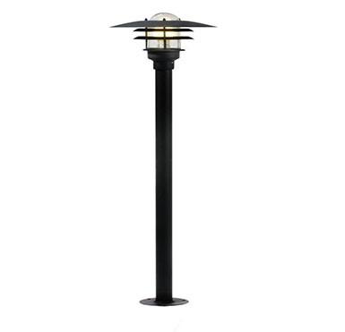 Stalp exterior H-116cm, IP44 Lonstrup 32 negru 71428003NL, Stalpi de iluminat exterior mici si medii , Corpuri de iluminat, lustre, aplice, veioze, lampadare, plafoniere. Mobilier si decoratiuni, oglinzi, scaune, fotolii. Oferte speciale iluminat interior si exterior. Livram in toata tara.  a