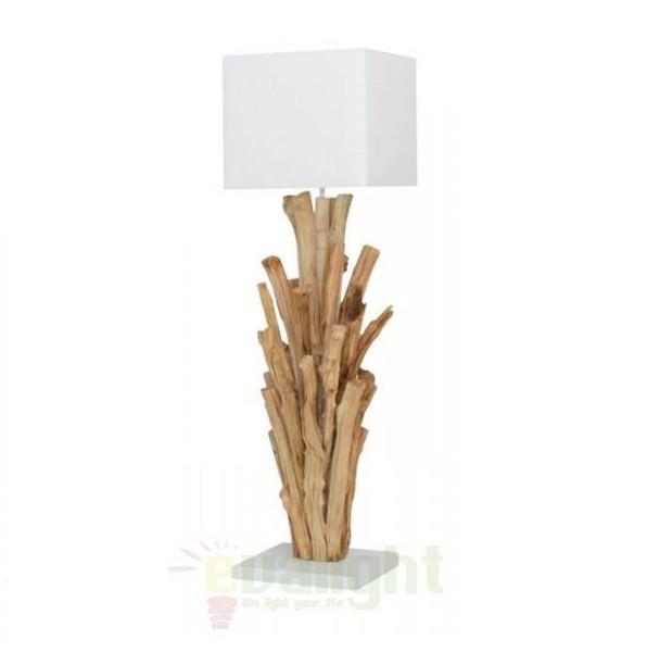 Veioza, lampa de masa, design etnic, H-122cm, Madras FL, Lampadare clasice, Corpuri de iluminat, lustre, aplice a