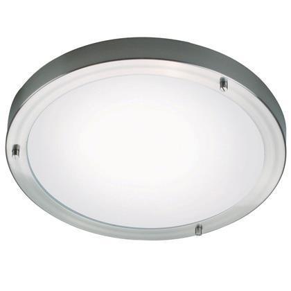 Plafoniera LED pentru baie Ancona Maxi otel 25246132 NL, Magazin, Corpuri de iluminat, lustre, aplice, veioze, lampadare, plafoniere. Mobilier si decoratiuni, oglinzi, scaune, fotolii. Oferte speciale iluminat interior si exterior. Livram in toata tara.  a