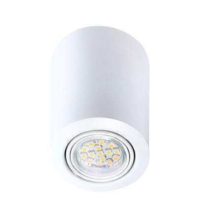 Spot modern aplicat Nota alb 77750101NL, Spoturi incastrate, aplicate - tavan / perete, Corpuri de iluminat, lustre, aplice a