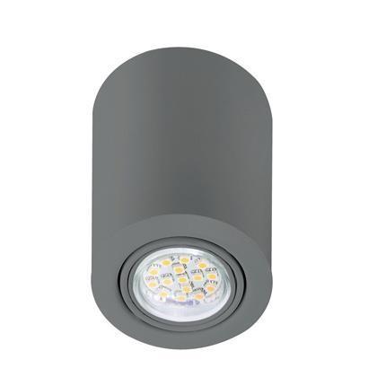 Spot modern aplicat LED Nota aluminiu 77750129NL, Spoturi incastrate, aplicate - tavan / perete, Corpuri de iluminat, lustre, aplice a